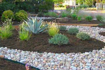 طراحی فضای سبز با استفاده از سنگ