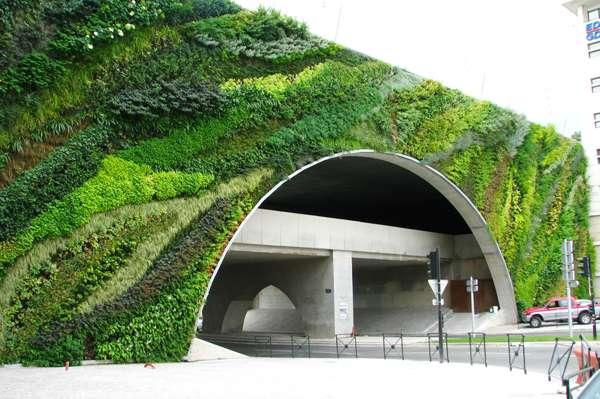 دیوار سبز یا گرین وال