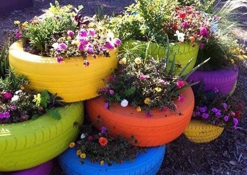 ایده های خلاقانه باغبانی.